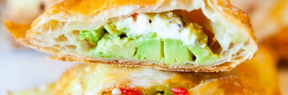 Avocado and cheese cream