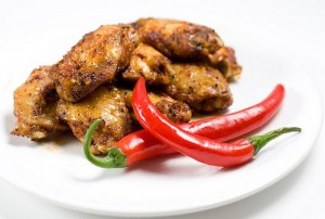 Cajun Style Chicken Wings