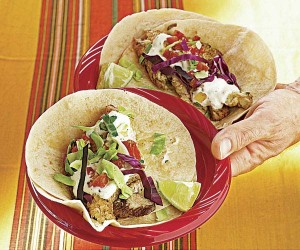 Grilled Red Snapper Tacos