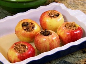 Roasted apples